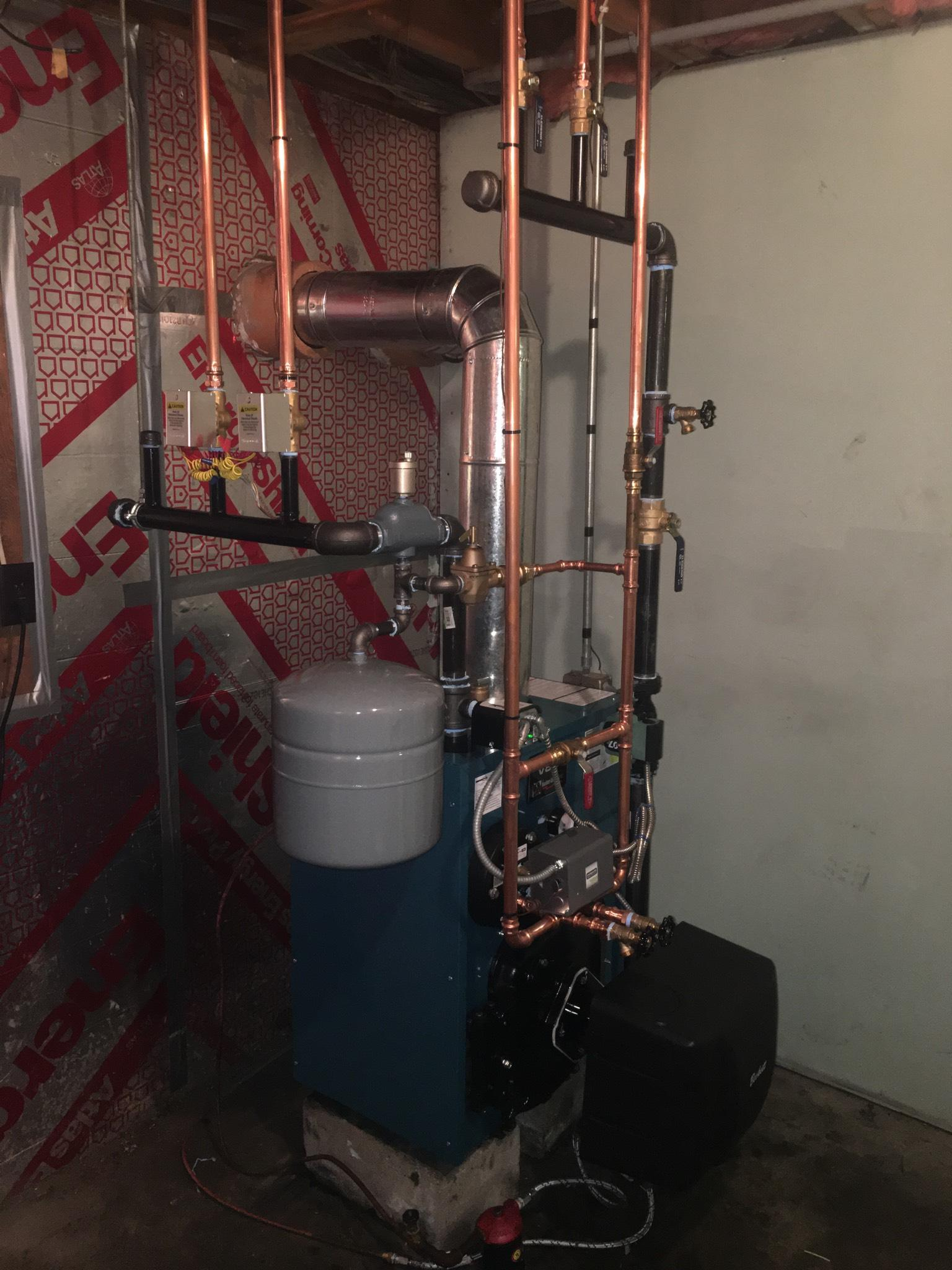 Boiler and Expansion Tank